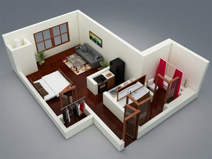 apartaments pequenos